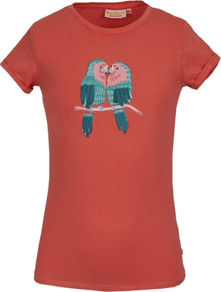 T-SHIRT MACAW CORAL