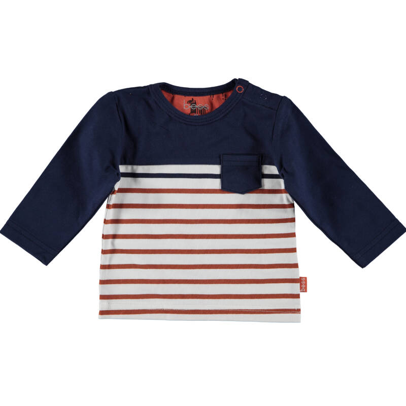 LONGSLEEVE STRIPED WITH POCKET