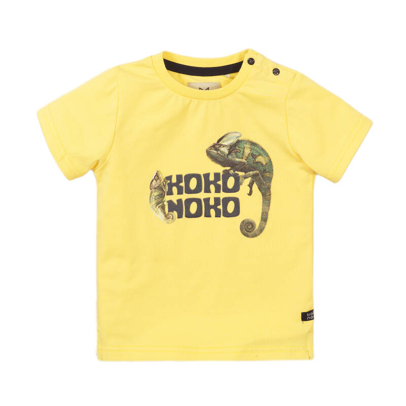 T-SHIRT LIGHT YELLOW