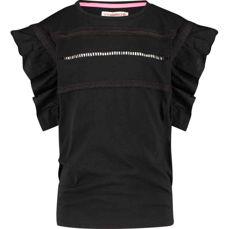 T-SHIRT IDELLA DEEP BLACK