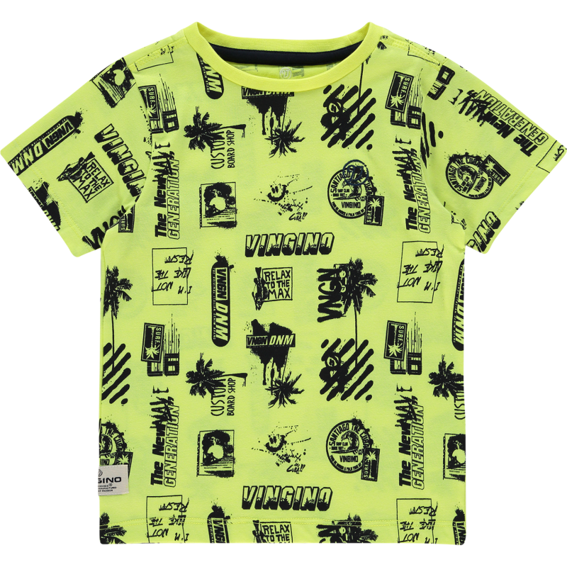 T-SHIRT HOZAN FRESH NEON YELLOW