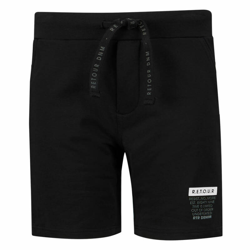 SWEAT SHORT MAXIM BLACK
