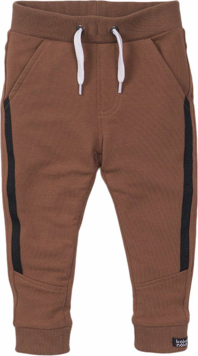 JOGGING TROUSERS CAMEL