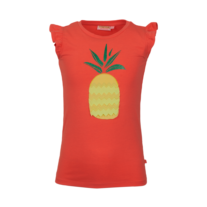 T-SHIRT SOOF FLUO CORAL