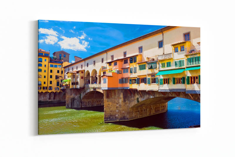 Oude brug Ponte Vecchio in Florence