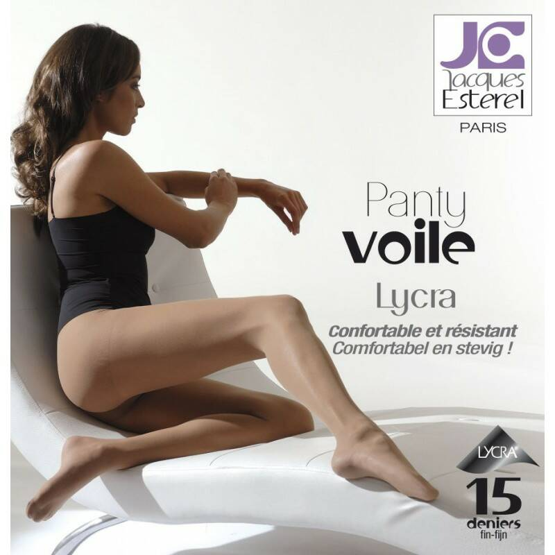 Voile Lycra Taupe Extra Large