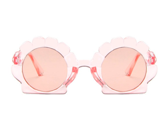 Shell zonnebril | Clear pink