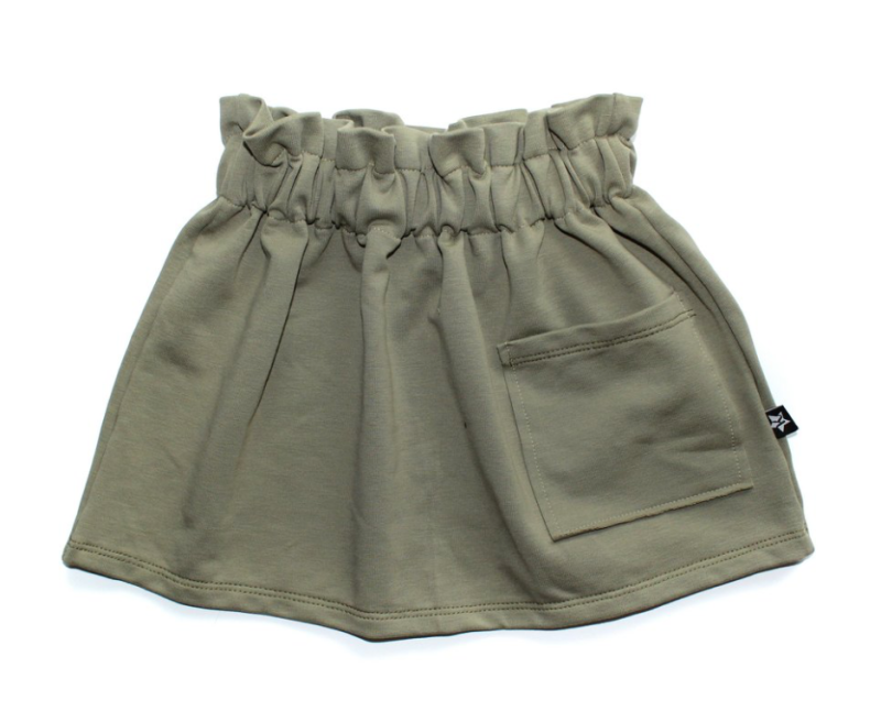 Pocket skirt | Olive green