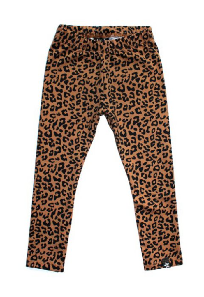 Legging | Leopard toffee