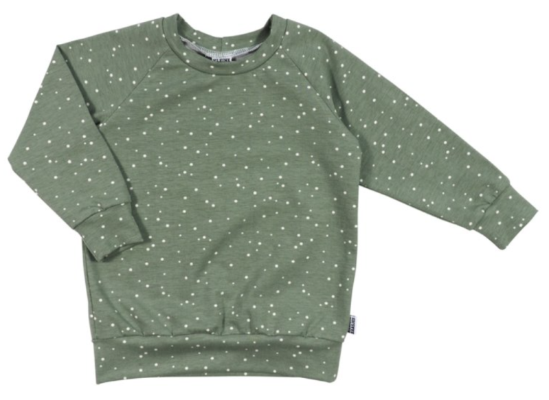 Sweater | Spots green