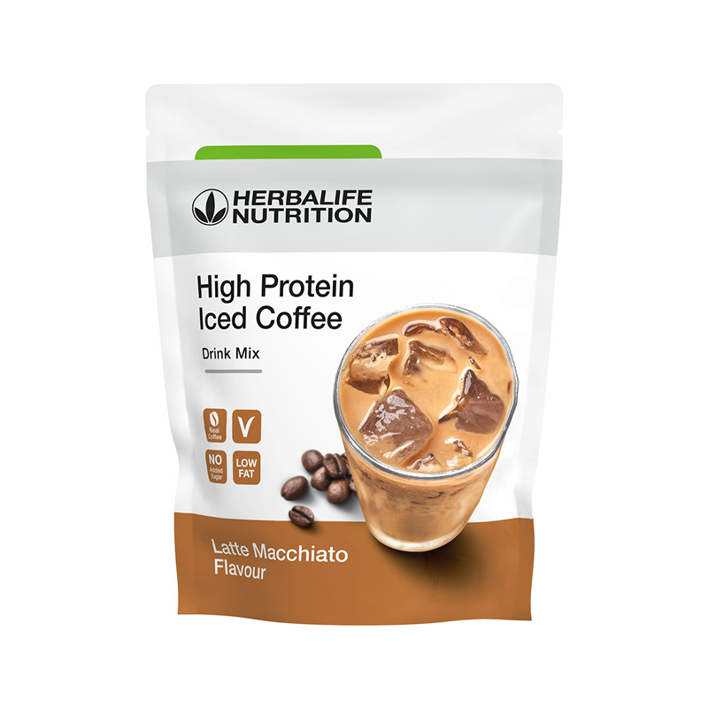 012K High Proteïn Iced Coffee Latte Macch308g  Vp-30,55