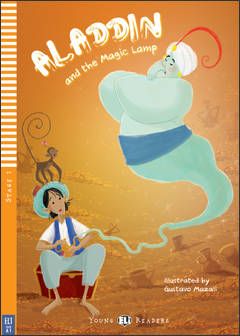 Aladdin and the Magic Lamp + video rom (bel. A1)