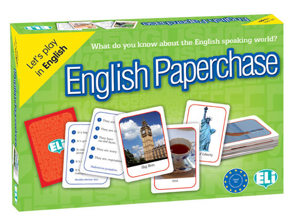 Taalspel English paperchase (A2)