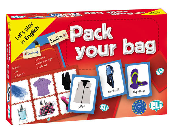 Taalspel Pack your bag (A1)