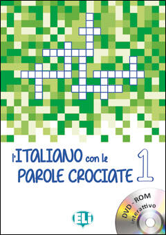 L'Italiano con le parole crociate, boek + interactieve video-rom (A1)