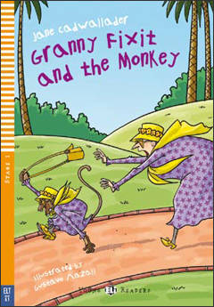 Granny Fixit and the Monkey + cd (below A1)