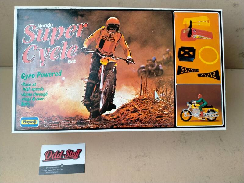 2#861. Honda super cycle set playwell