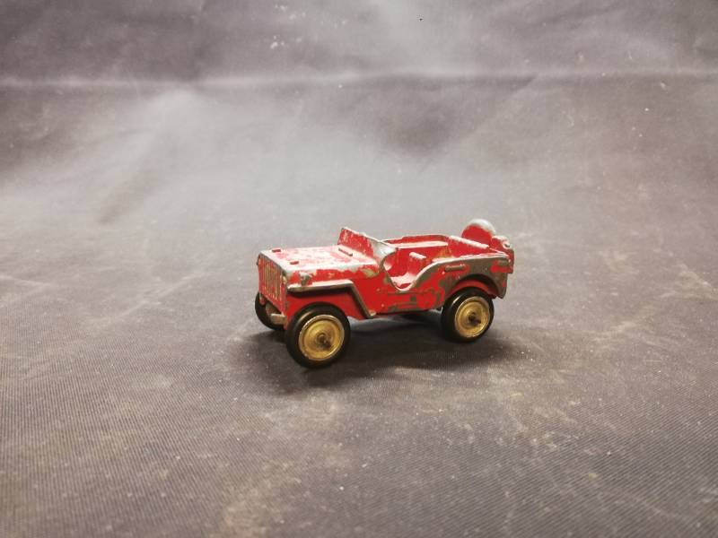 57#154. Jeep. Sep toy 1940 diecast model