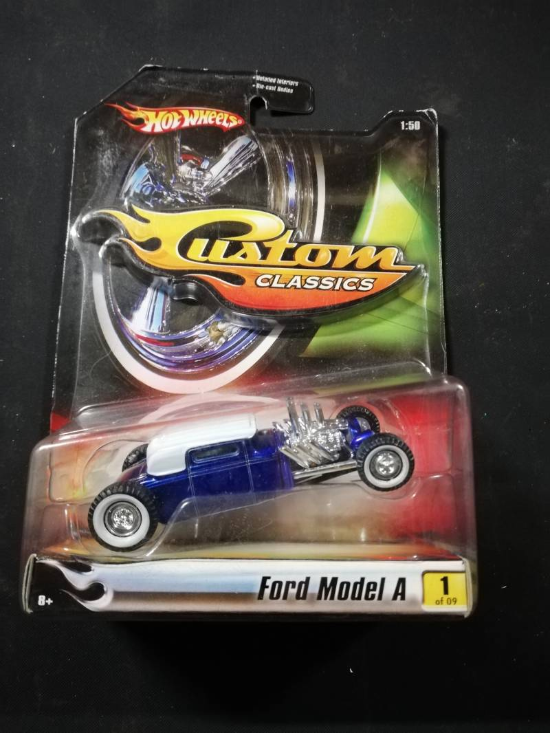 57#91. Ford model A hotwheels diecast model
