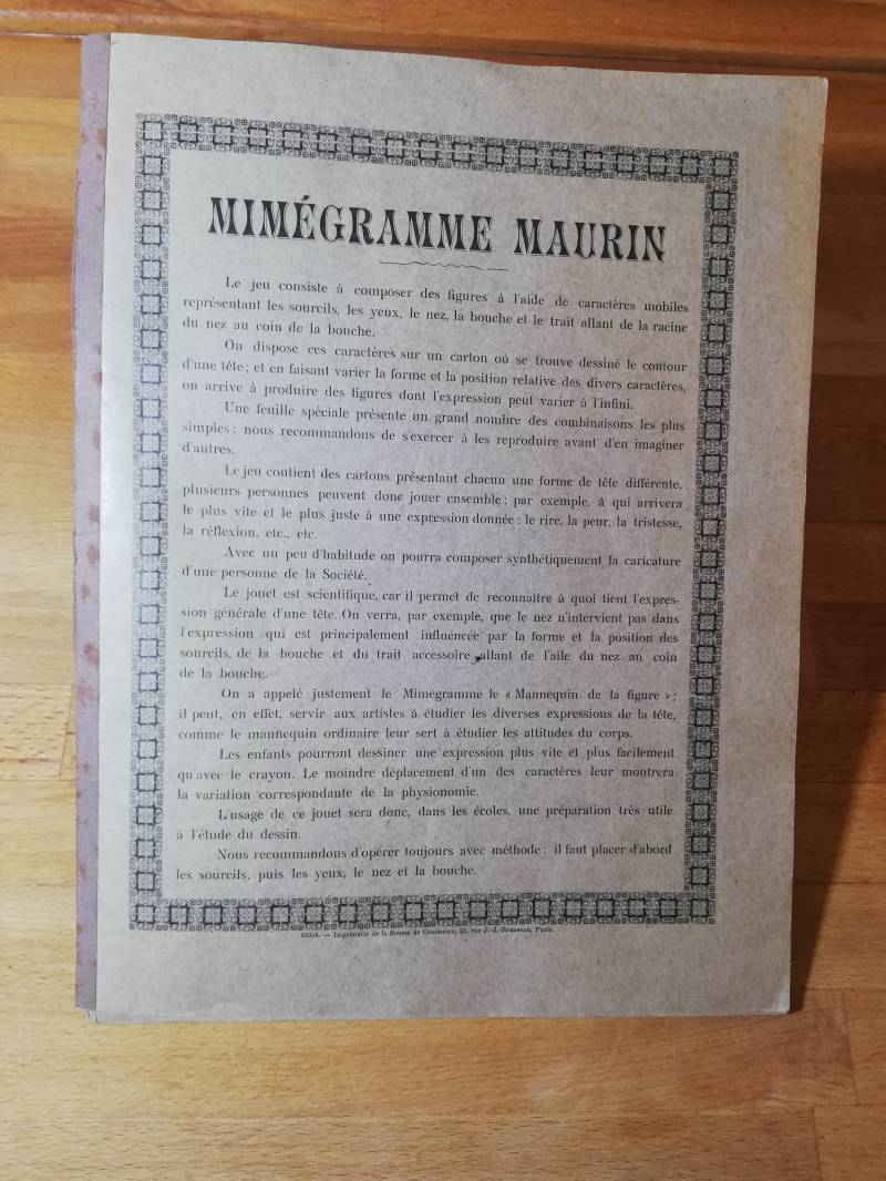 1#260.mime gramme Maurin spel