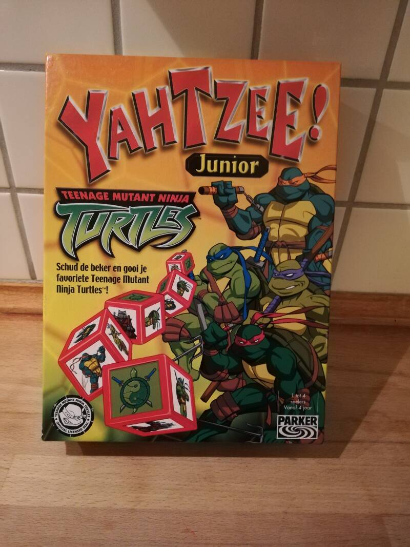 3#344. Teenage mutant ninja turtles Yahtzee