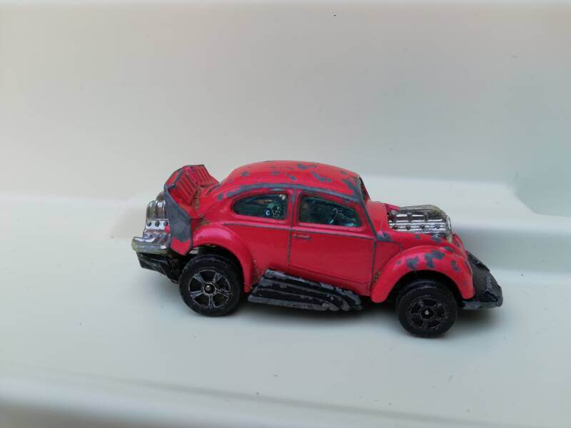 41#408. VW Hot Rod whizzwheels diecast model