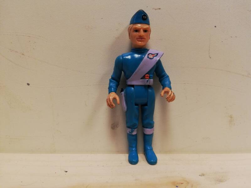 3#497. Thunderbirds Poppetje Matchbox