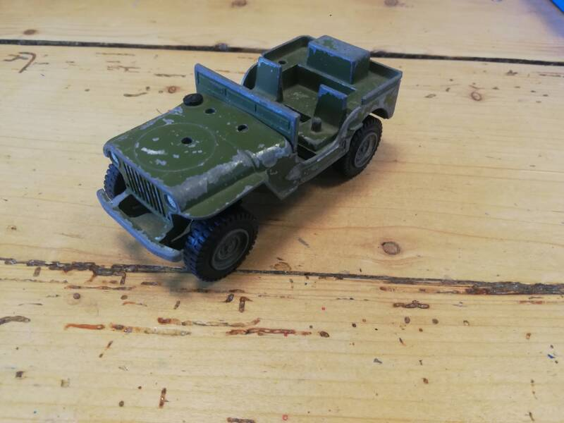 53#568. Dinky toys Us jeep