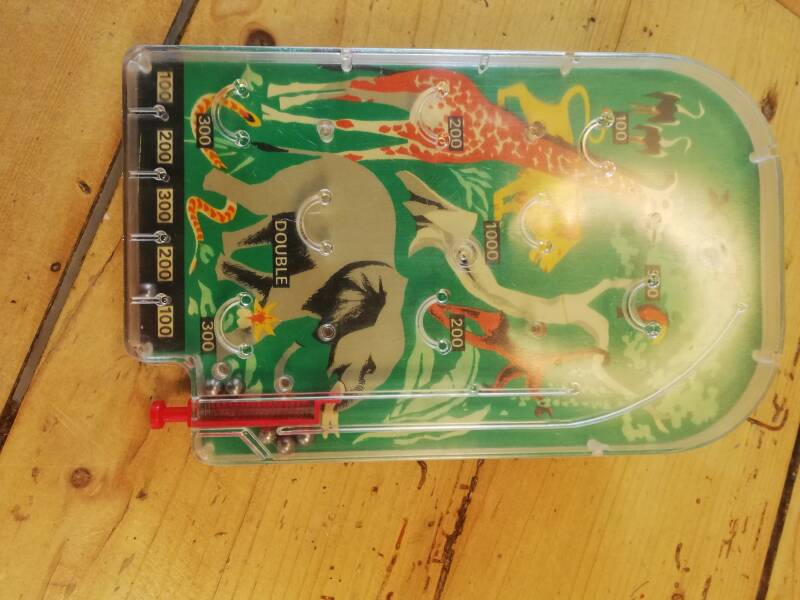2#572. Mini pinball game