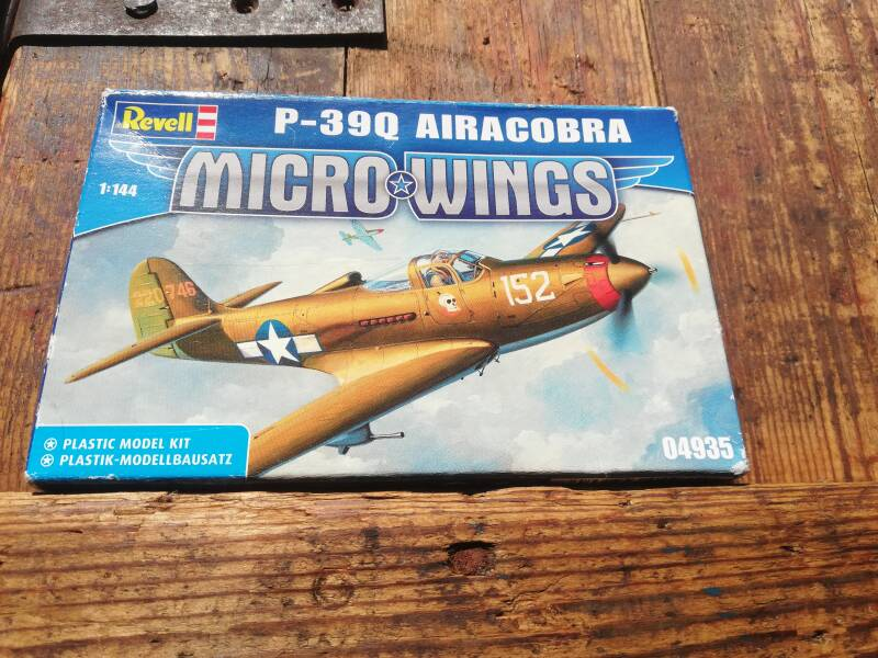 7#602. Revell Micro wings airacobra