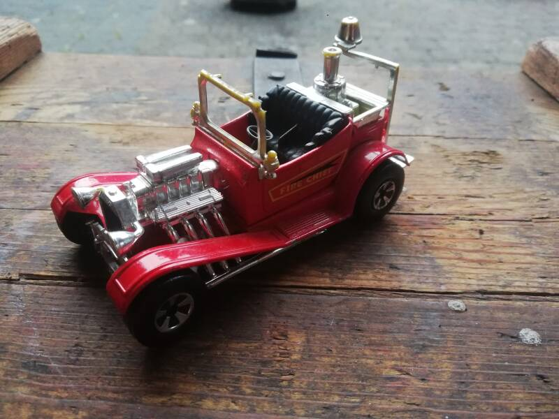 55#621. Matchbox speedkings fire chief
