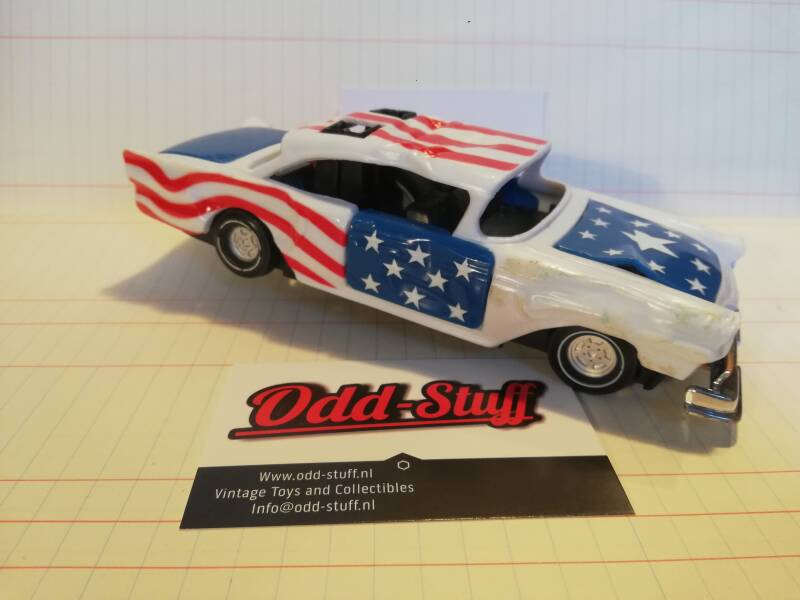 2#791. Clipper Crazy Racer. Stars and stripes
