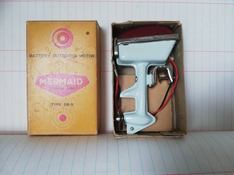 1#837. Toy outboard, mermaid
