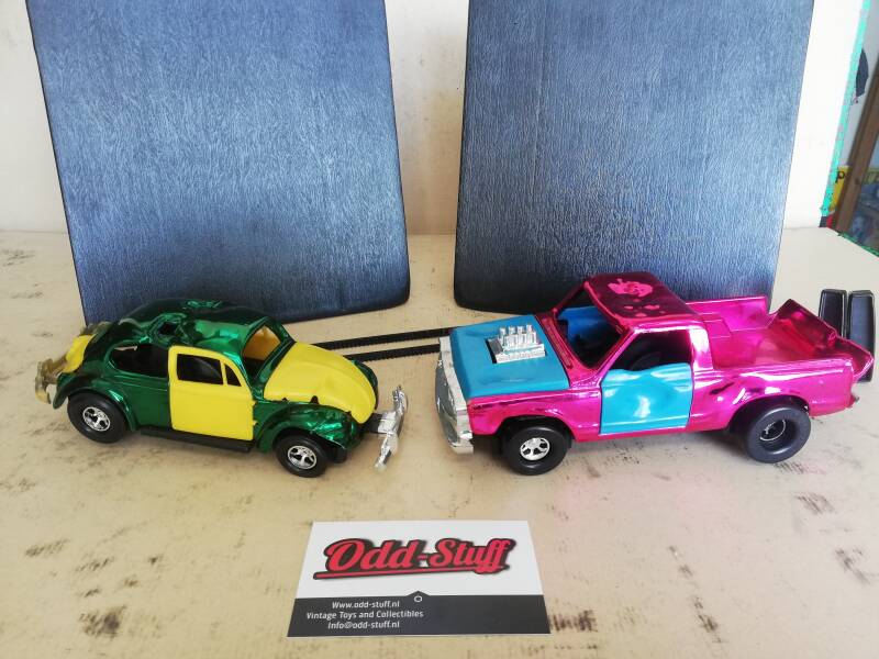 2#855. Kenner Crazy stuntcars. Ultra chrome