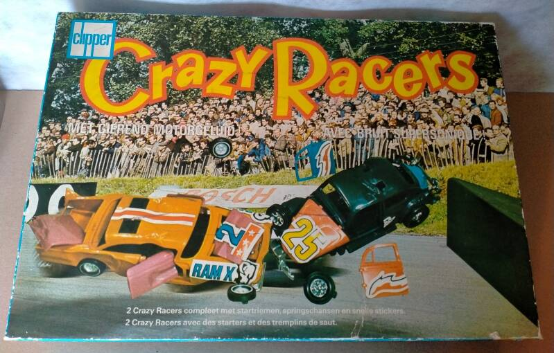 10#2/971 Crazy Racers Clipper Startset