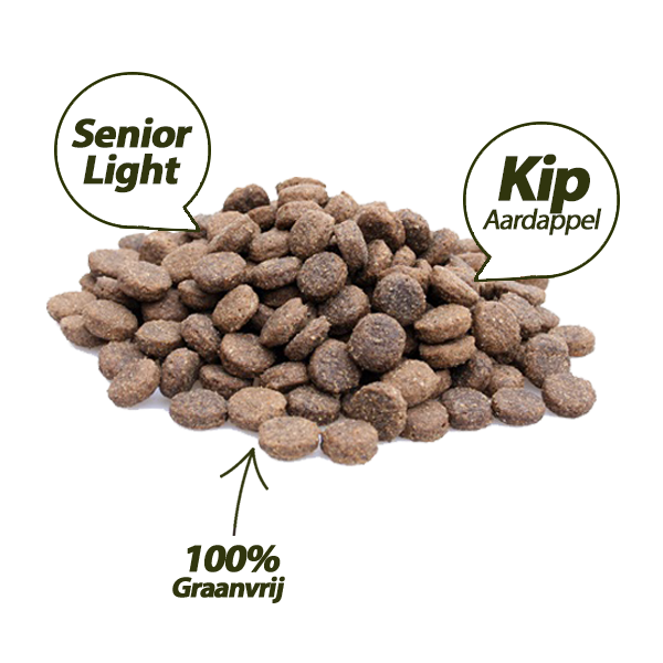 Adult Senior & Light - Kip & Aardappel
