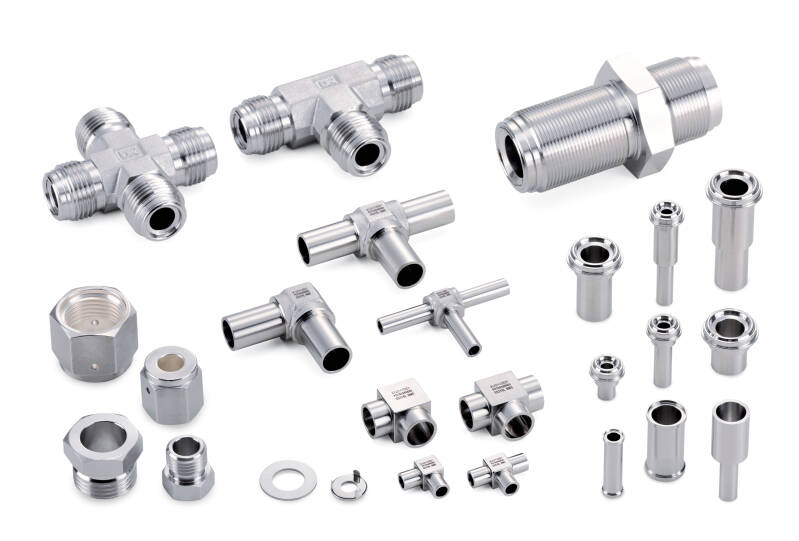 Ultra High Purity Compression Fittings