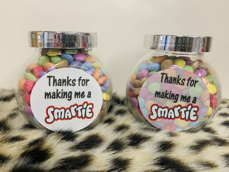 1 Thanks for making me a SMARTIE...
