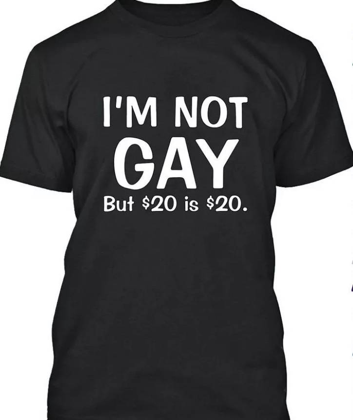 I'M NOT GAY BUT...