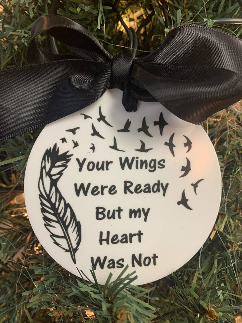Your wings were ready but mij heart was not