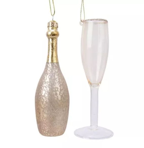 Kersthanger champagne