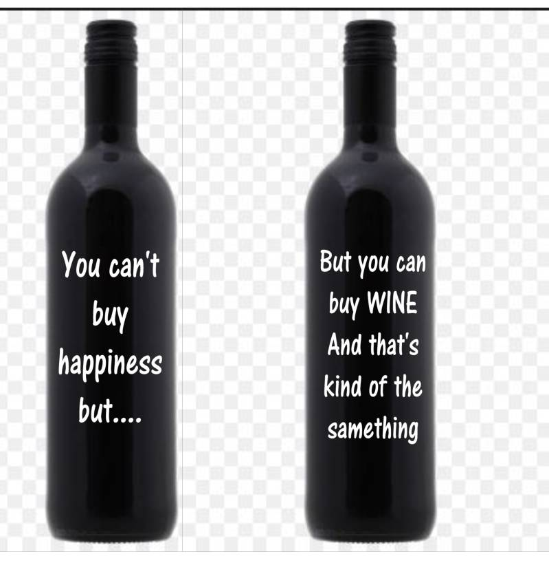 You Can't buy happiness..........