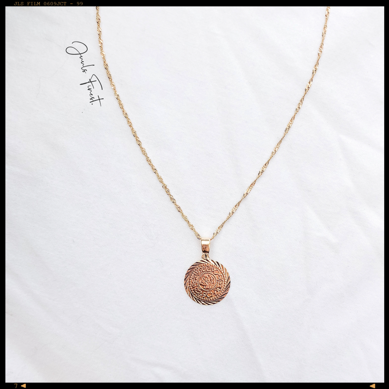 Necklace Greek Coin