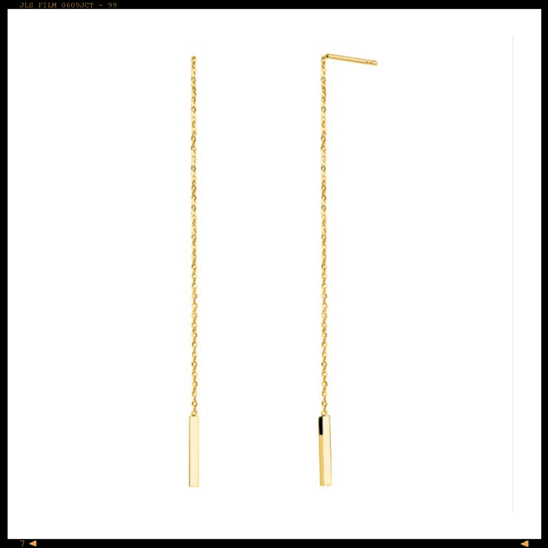 Earring Threader Bar