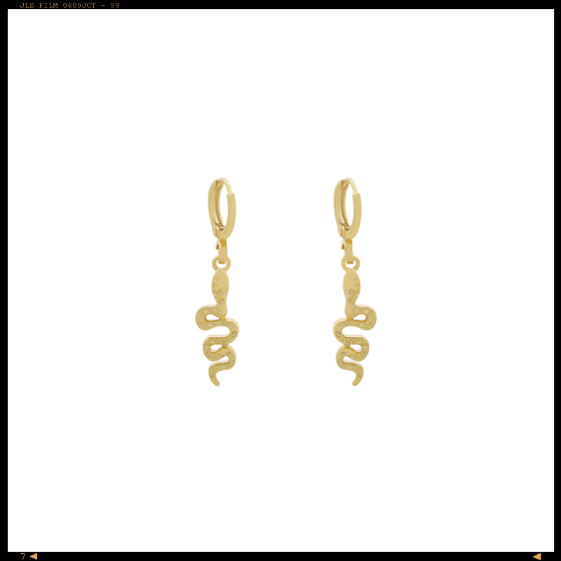 Earrings Little Snake