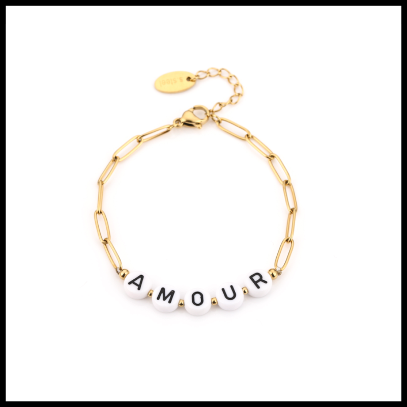 Bracelet Chained Amour