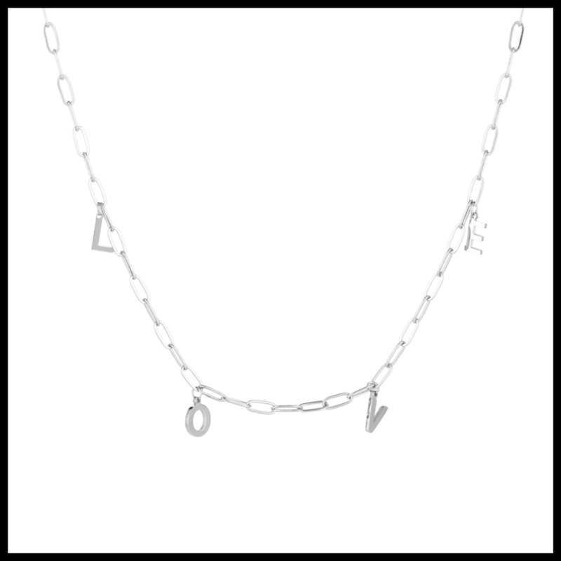 Necklace Chained Love