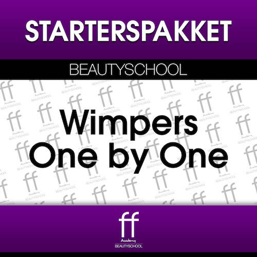STARTERSPAKKET WIMPEREXTENSIONS ONE BY ONE LASHES