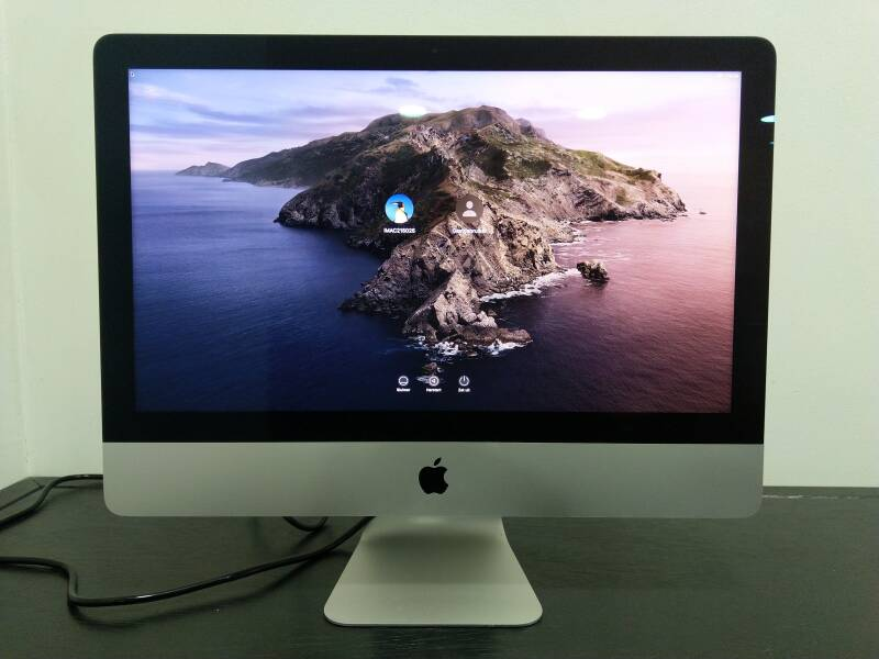 "iMac 21,5"" 4K, Slightly Used"