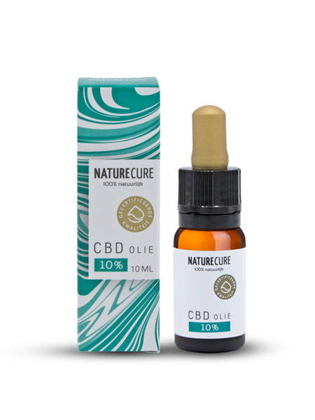 CBD olie 10 ml 10%